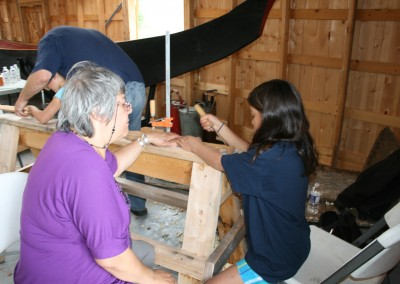 Paddle Making Wkshp 2013
