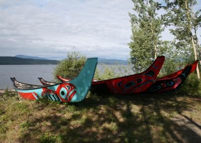 Tlingit Canoes 2013