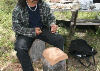 Tom Dickson Jr. Carving 2013