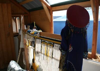 Chilkat Weaving Demonstration 2013